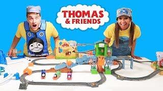Thomas & Friends MegaTrack Toy Challenge!    Toy Review    Konas2002