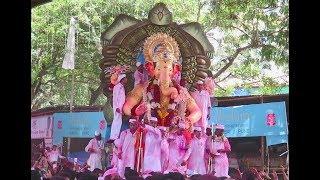 LALBAUGCHA RAJA VISARJAN SOHALA 2017 : Huge Crowd of Mumbai : Ganpati Visarjan 2017
