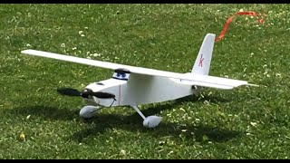 New RC airplane maiden flight (Dusty cousin)