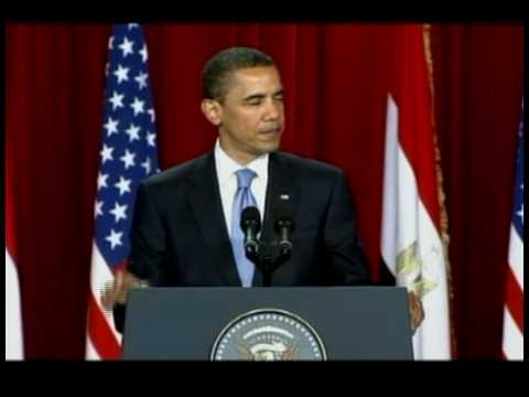 Lower Quality Version: President Obama Speaks to the Muslim World from Cairo, Egypt