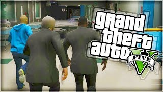 GTA 5 Funny Moments 'HIDE AND SEEK IN THE HOSPITAL!' (With The Sidemen)