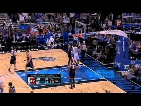 Magic vs Hawks - Game 5 NBA Playoffs - 04/26/11 Recap & Highlights