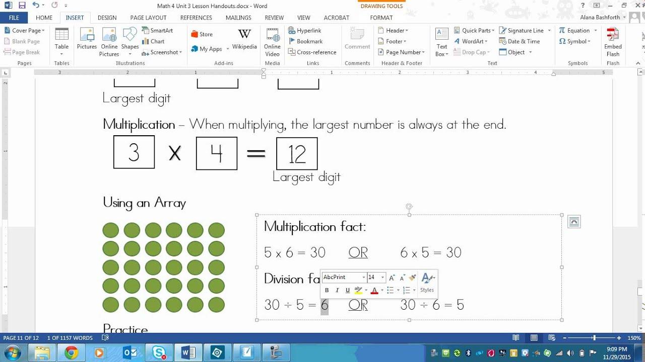 Math worksheets 5th grade multiplication and division