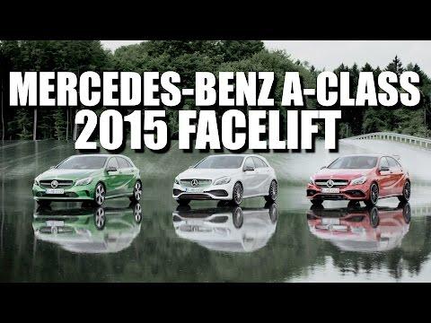 Mercedes-Benz A-Class (2015 FL) (ENG) - Test Drive and Review