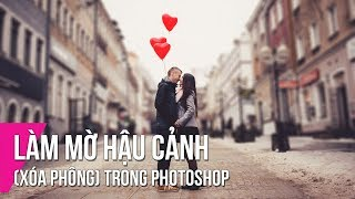 How to Fake Depth Of Field in Photoshop | Thuy Uyen