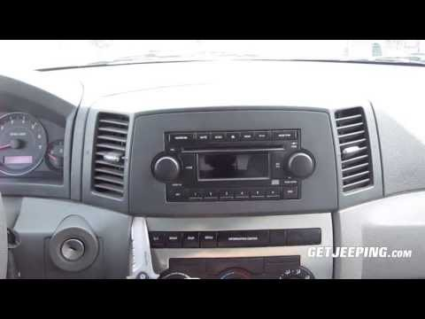 How To: Install radio head unit in a 2005 jeep Grand Cherokee WK - GetJeeping