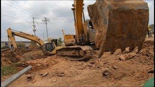 Amazing Excavator Recovery Fail