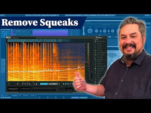 Using iZotope RX to remove Acoustic Guitar string squeaks