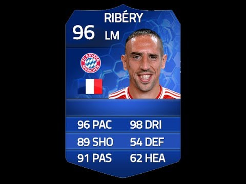 FIFA 14 TOTY RIBERY 96 Player Review & In Game Stats Ultimate Team