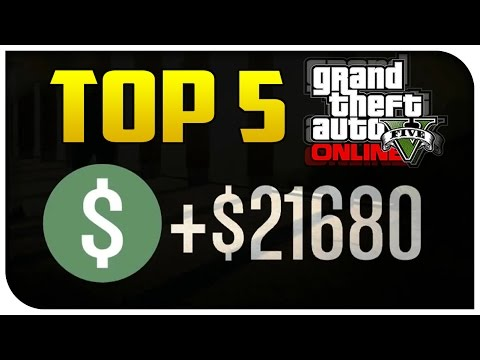 "Top 5 Ways to ""Make Money"" in GTA 5 Online! (Best & Most Fun) [GTA V]"