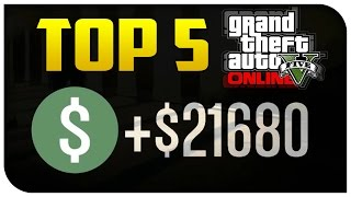 "Top 5 Ways to ""Make Money"" in GTA 5 Online! (Best & Most Fun) [GTA V]"