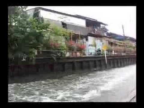 Khlong Saen Saep Canal Ferry, Bangkok, Thailand