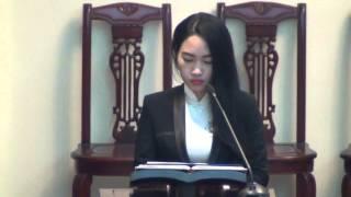 Đáp Ca Thánh Lễ Giáng Sinh 2015 - Lê Trang - Ca đoàn Goretti