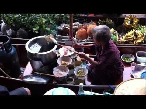 Bangkok Floating Market March 2012 …. Ah Dee… Bah Chor Mee for you?