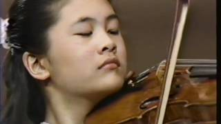 Jennifer Koh with Chicago Symphony, 11 years old