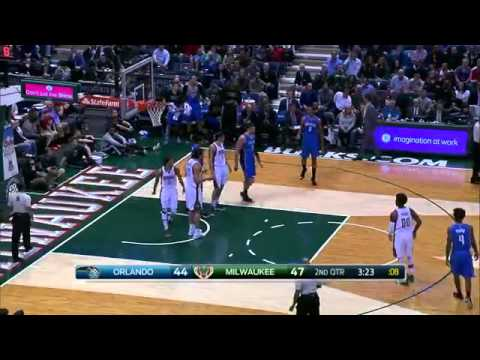 Orlando Magic vs Milwaukee Bucks | Full Highlights | March 11, 2015 | NBA Season 2014/15