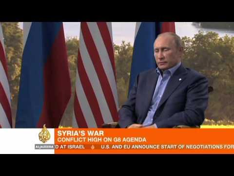 Obama and Putin discuss Syria conflict