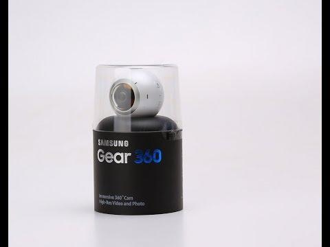فتح صندوق وأنطباع أولي عن Samsung Gear 360