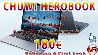#Chuwi #HeroBook Chuwi HeroBook Notebook a 180€ INCREDIBILE!