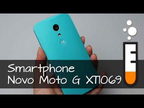 Novo Moto G DTV XT1069 Motorola Smartphone - Vídeo Resenha Brasil