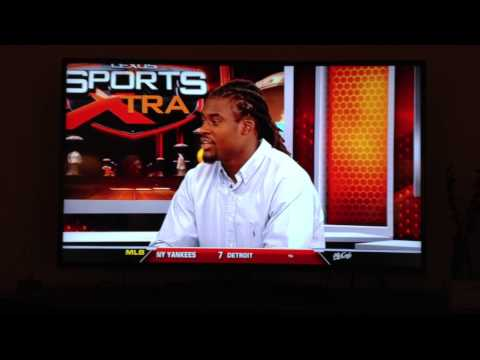 Former FIU Safety Cyprien on WSVN Sports XTRA
