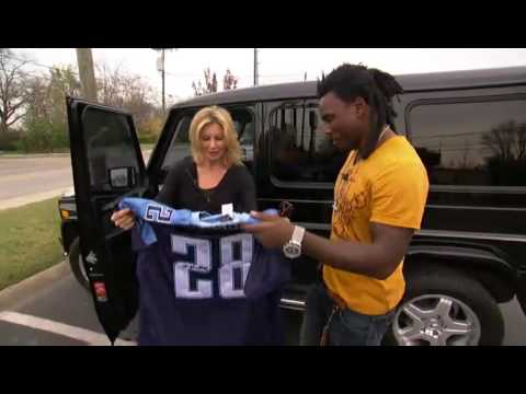 Faith Hill and Chris Johnson Video