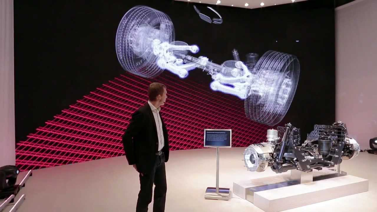 Volvo Trucks - Reveals the all-new Individual Front Suspension that comes with the New Volvo FH ...