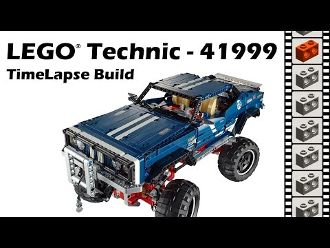 LEGO Technic 41999, 4x4 Crawler Exclusive Edition Review - TimeLapse