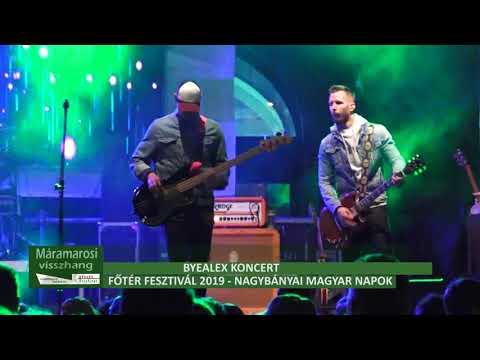 Főtér Fesztivál 2019 - ByeAlex koncert, második rész