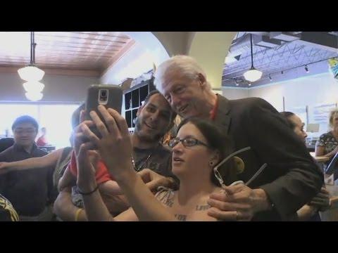 Bill Clinton N.M. visit
