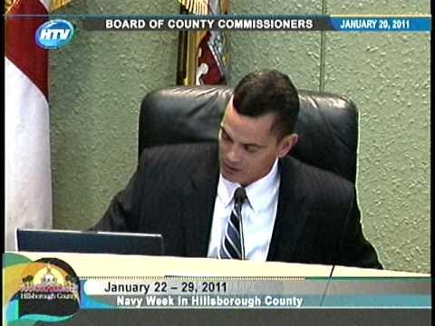 January 22 - 29, 2011 Proclaimed Navy Week in Hillsborough County