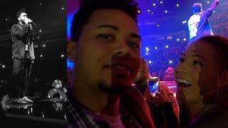 THE MOST EPIC THE WEEKND FRONT ROW EXPERIENCE!!