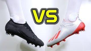ULTIMATE SPEED BOOT BATTLE! - Nike Mercurial Vapor 13 Elite vs Adidas X 19.1