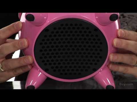 Pink iPig iPod Docking Station