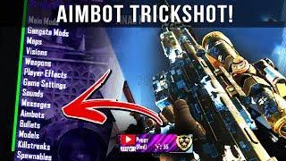 RED MEMBER HITS AN AIMBOT TRICKSHOT ON ME!! (BLACK OPS 2 AIMBOT TRICKSHOTTING)