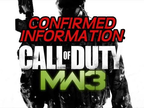 100% CONFIRMED MW3 Info: Zombies, Dedicated Servers, & COD Elite