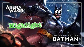 Rov Highlight : ล้วง..จบในชุดเดียว อัศวินรัตติกาล I am Batman ..!!