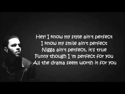 J Cole Lyrics Quotes About Love : Cole - Sparks Will Fly Lyrics