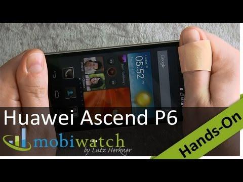 Huawei Ascend P6: Probando el elegante y súper fino teléfono de metal