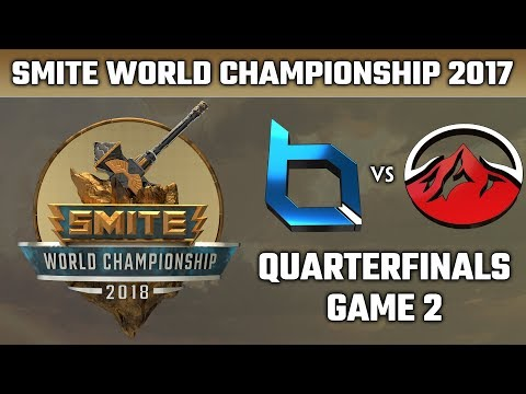 SMITE World Championship 2018: Quarterfinals - Obey Alliance vs. Elevate (Game 2)