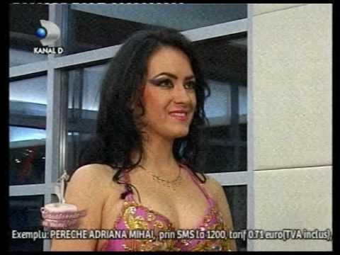 """Cursuri dans oriental (belly dance) Amira - Kanal D """"Casatoreste-te cu mine!"""""""