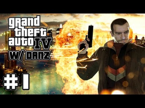GTA IV w/ Danz Pt1 THE BEGINNING