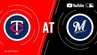 Twins at Brewers 8/14/19 | MLB Game of the Week Live on YouTube