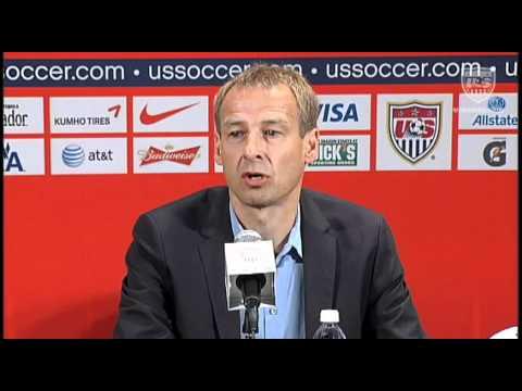 Jurgen Klinsmann Introduced at Press Conference in New York