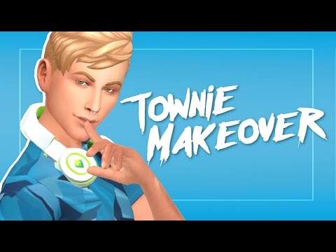 The Sims 4: Townie Makeover [EP 6]: The Landgraab Family