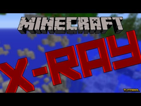 Minecraft Mods Showcase - X-Ray Mod! (1.7.10)