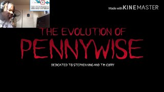 The Evolution Of Pennywise / IT (Animated) REACTION