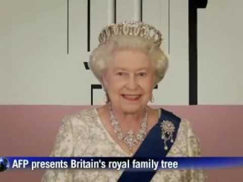 Britain's Royal family tree