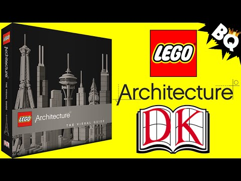LEGO Architecture The Visual Guide by DK Publishing Book Review