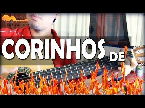 Aula de Violão gospel - Corinhos de fogo com dois acordes apenas - Iniciantes